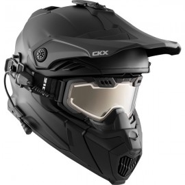 CKX TITAN ELECTRIC AIR FLOW BACKCOUNTRY HELMET, WINTER SOLID - INCLUDED 210° GOGGLES