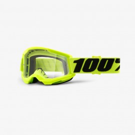 100% GOGGLES Strata 2 Youth - Clear Lens