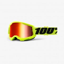 100% GOGGLES Strata 2 - Mirror Lens