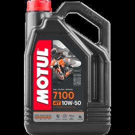 MOTUL 7100 100 % SYNTHETIC 4-STROKE ENGINE OIL