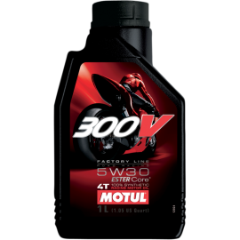 MOTUL 300V 100 % SYNTHETIC 4-STROKE ENGINE OIL