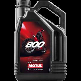 MOTUL 800 100 % SYNTHETIC 2-STROKE OFFROAD ENGINE OIL