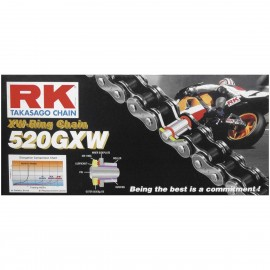 CHAINE RK 520 GXW À JOINT XW
