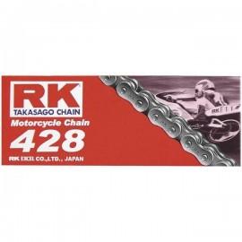 CHAINE RK 428 M STANDARD À JOINT NON TORIQUE