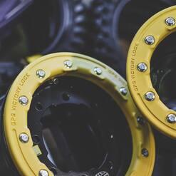 ⚠️Beadlock @goldspeed.racing pour ton quad⚠️ . . . . #plxsport #speedshop #goldspeed #beadlock #wheels #atv #quad